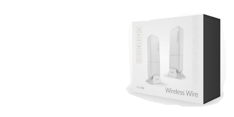 Wireless Wire - Available as a Kit, AP or Client only60GHz Wireless 1Gbps Full Duplex link for 200M +